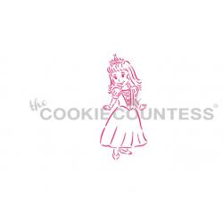 stencil PYO princess /...