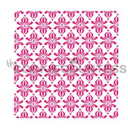 stencil twirly pattern /...