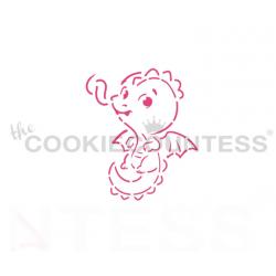 stencil PYO dragon / dragon...