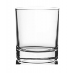 shot clear candle glass /...