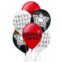 6 ballons mix - stranger...