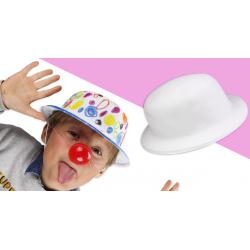 chapeau melon à décorer