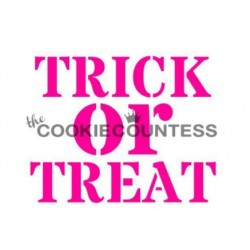 Trick or Treat / Des bonbons ou Un sort