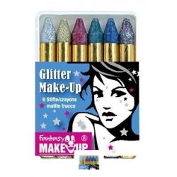 6 crayons de maquillage...