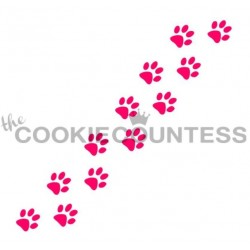 stencil Animal Trail / Sentier animal - Cookie Countess