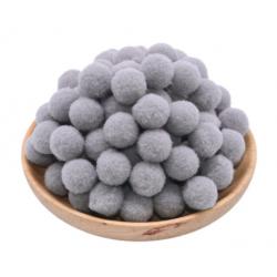 Pompon couleur gray / gris...