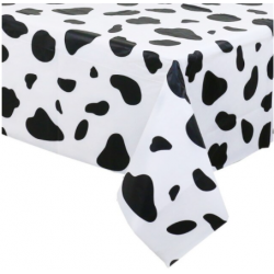 nappe sur le thème des vaches