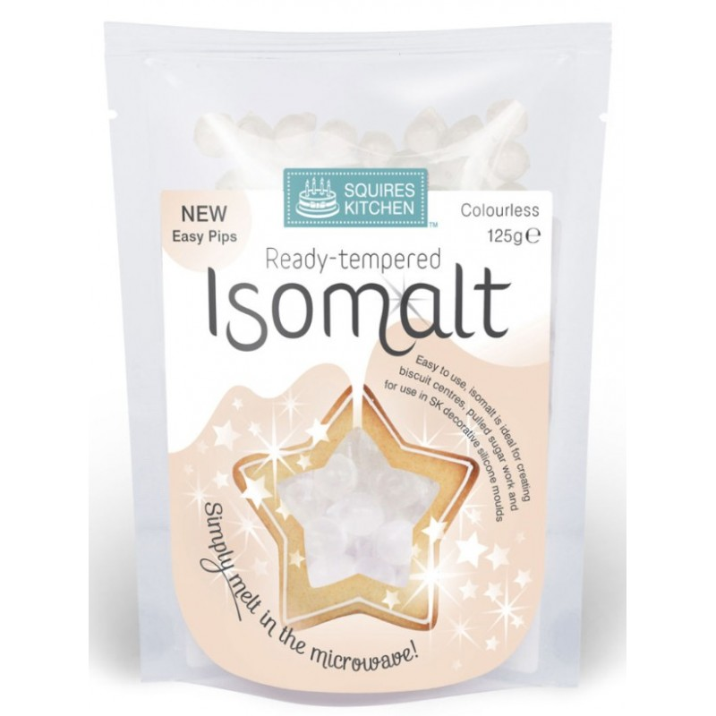 SK Isomalt prêt à l'emploi - colourless / incolore - 125g - Squires Kitchen