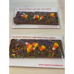 barre de chocolat cimetière...