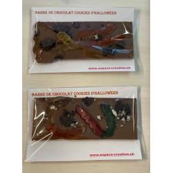 Halloween Cookies Schokoriegel