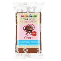 Pâte à sucre saveur choco 250g
