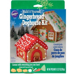 Wilton Gingerbead Dog House Kit