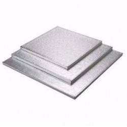 silver 16 x 16 inch thickness 1.2 cm