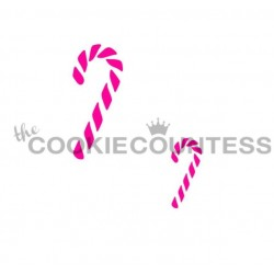 Candy cane 2 sizes