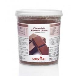 dark plastic chocolate 1kg - Saracino