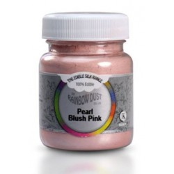 Edible Silk - rose blush perlé - 35g