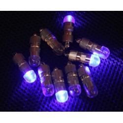 Mini blue led flashing