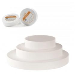 Polystirène rond diamètre 25 cm hauteur 10 cm