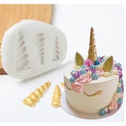 horn unicorn - 3 sizes