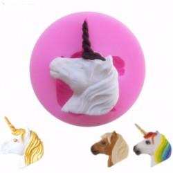 tête licorne