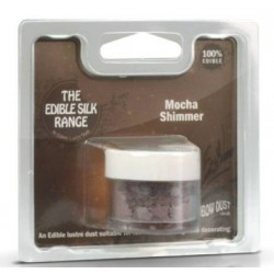 Edible Silk - shimmer mocha - moka - 5g