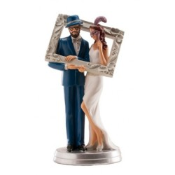 figurine married couple fun - 20cm