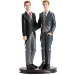 figurine couple of gays - 19cm