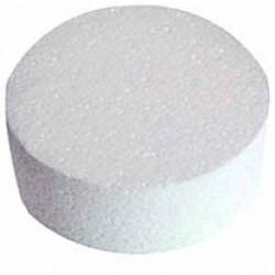 Polystirène rond Ø 9.5 cm hauteur 4 cm