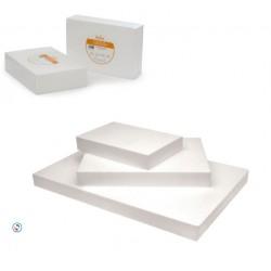 Polystirène rectangulaire 30x45 cm hauteur 7.5 cm