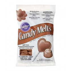 Candy Melts light cocoa / chocolat brun 340g - Wilton
