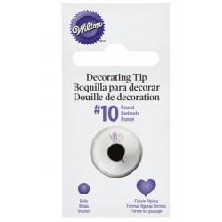 10 round tip - Wilton