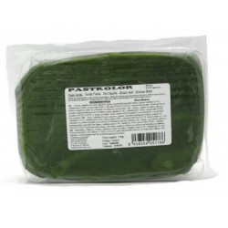 Sugar paste green leaf - 1kg - Pastkolor