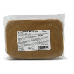 Pâte à sucre brun café - 1kg - Pastkolor