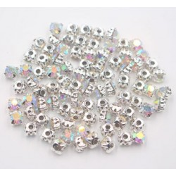 perle strass crystal argent 4mm - 1440p