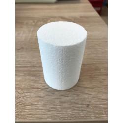 Polystyrene round  Ø 6 cm x 8cm