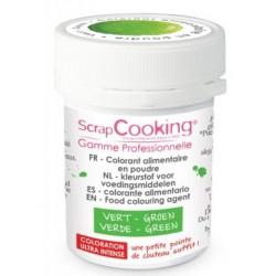 food color powder green 5g