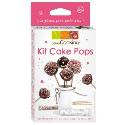 "Kit ""Cake pops"" de ScrapCooking"