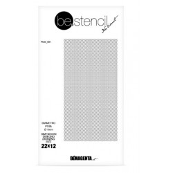 be.stencil - dots 001 - Ø 1mm