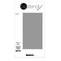 be.stencil - dots  003 -  Ø 5 mm