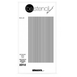 be.stencil - line 001 - 1mm