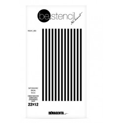 be.stencil - line  003 - 5 mm