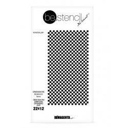 be.stencil - échecs 001 - 5 mm