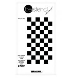 be.stencil - échecs 003 - 20 mm