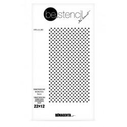 be.stencil - star 002 - 5 mm