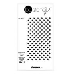 be.stencil - star 003 - 10 mm