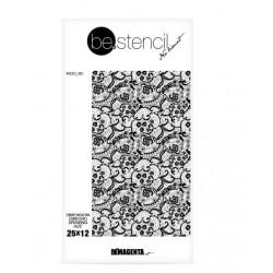 be.stencil - lace 001