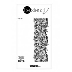 be.stencil - lace 002