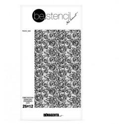 be.stencil - lace 003