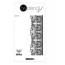 be.stencil - lace 005