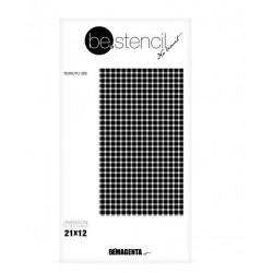 be.stencil - fabric 002